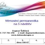 Permanentka pro pět náštěv