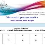 Permanentka pro deset náštěv jedné terapie