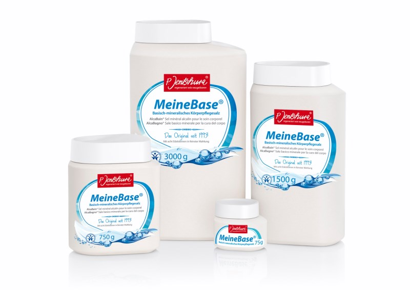 MeineBase® Zásadito-minerální koupelová sůl