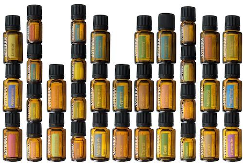 Esencialní oleje terapeutické kvality doTERRA.